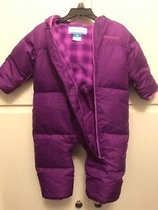 Columbia 6-12 months snowsuit. BRAND NEW