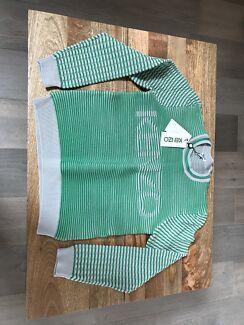Kenzo sweater - green ribbed