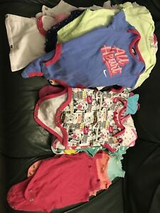 Girl Baby Clothes (Romper)