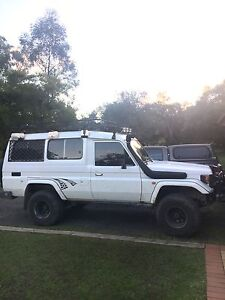 Toyota Land Cruiser Hzj75 troopcarrier Waratah West Newcastle Area Preview