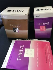 Thrive energy/nutrition supplements