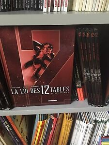 Bande dessinee la loi des 12 tables