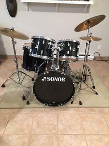 Drum Sonor Sabian, Zildjian
