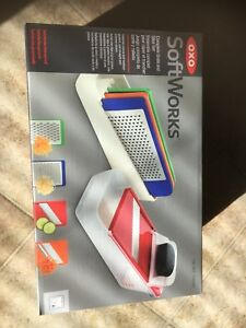 Softworks oxo good grips grate and slice set $25 obo