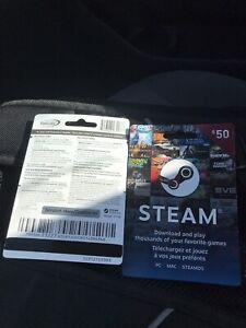 2 cartea Steam a vendre