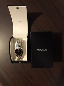 Stainless Steel Movado Watch
