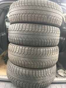4-225/60R17 Michelin X-ICE