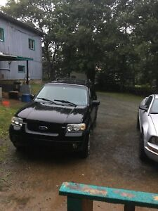2005 Ford Escape parts or woods rig