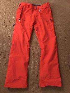 Men's large Volcom Gortex ski pants