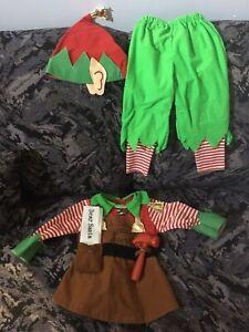 Christmas costume- 1-2 yrs old