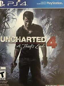 Uncharted 4 for trade.  Looking for mafia 3