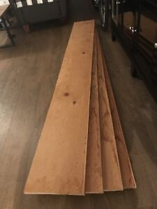 Storage Shelving (Boards and Metal Braces)