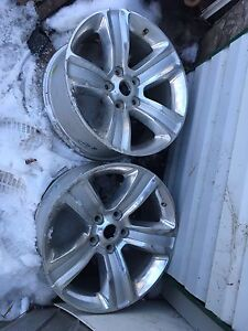 Two 20 inch Dodge sport 5bolt rims