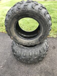 Side by Side Tires 25x10.00-12 - Pair