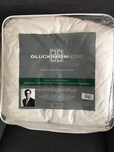 Gluckstein European White Down Duvet