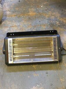 Quartz radiant heaters (2)