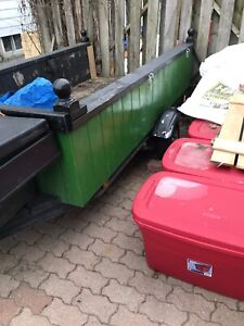 4x8 utility trailer everything works no holes $800 obo