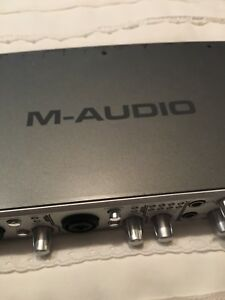 m-Audio FireWire 410 recording interface