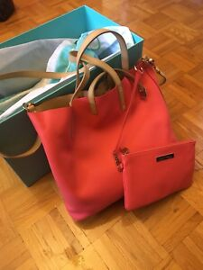 AUTHENTIC Tiffany & Co reversible tote