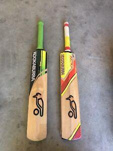 (Red) Kookaburra cricket bat [size H]