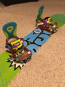 stepchild pow sux board & thirtytwo lashed boots