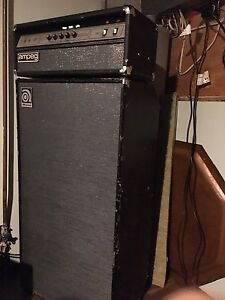 Ampeg V4B, with 810 Cabinet.