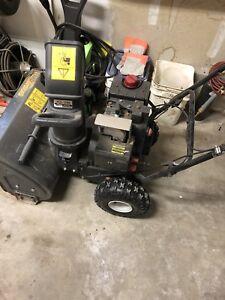 """22"""" yard works snow blower"""
