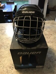 Jr hockey helmet