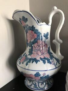Chinese big hand paint vase