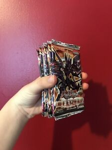 never opened Yu-Gi-Oh! cards