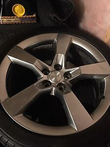 "Winter tires & 20"" rims Pirelli Scorpion ice and snow 245/45 R20"