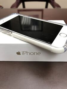 iPhone 6 gold 64 G. With the charger, glass cover
