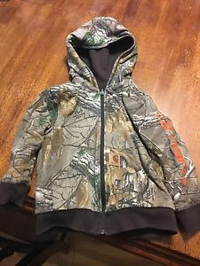 Carhartt Realtree kids reversible HW sweater