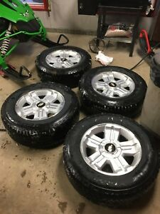 Chevy 6 bolt and tires with sensors
