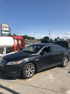 2010 Ford taurus sel running on propane