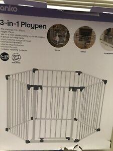 Playpen kids toddler fence