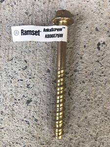 Ramset Ankascrew 6mm x 75mm Chapel Hill Brisbane North West Preview