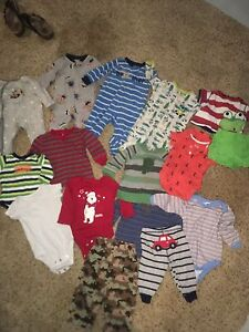3/6 month baby boy lot