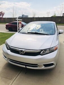 2012 Honda Civic very low Mileage  Remote Car starter