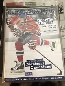 (45) Toronto MAPLE  LEAFS Programs - Including Playoffs