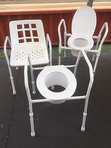 Independent living bathroom chairs Barrack Point Shellharbour Area Preview