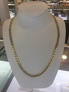 10k yellow gold 26inches Gucci chain