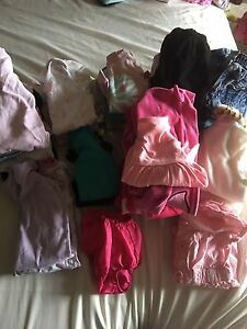 Tons of baby girl clothes