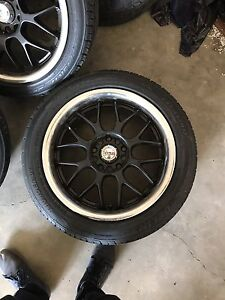 """17"""" rims with tires bolt pattern 5x114.3"""