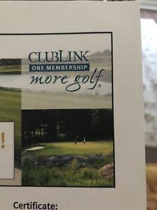 Clublink 30 day membership