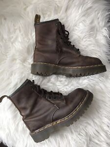 Brown Doc Martens