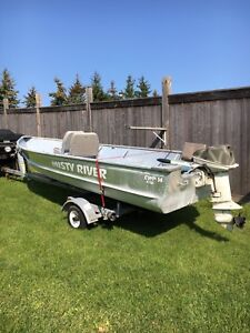***BOAT, MOTOR AND TRAILER***