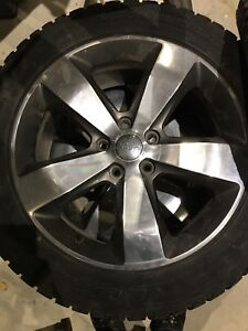 """20"""" Winter tires and mags"""