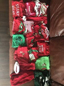 New baby Christmas clothes!