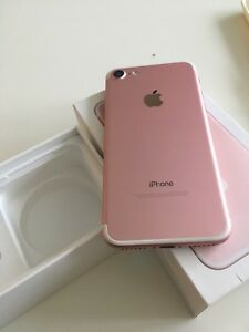 iphone7 128gb rosegold